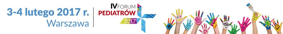Forum Pediatrów 2017 zapraszamy!